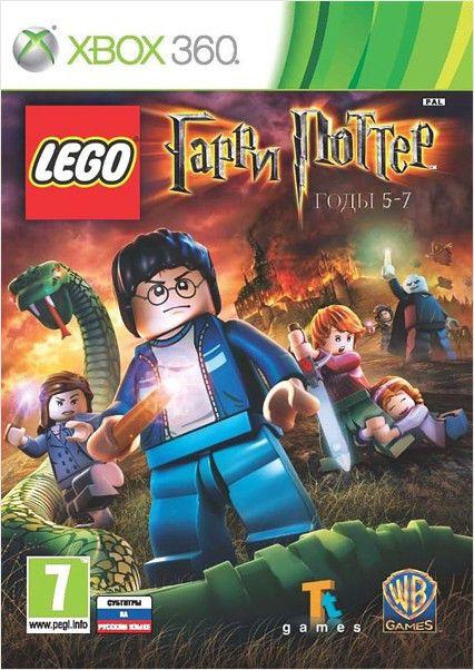 Игра MICROSOFT LEGO Гарри Поттер: годы 5-7 для  Xbox360 RUS (субтитры)