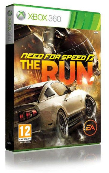 Игра MICROSOFT Need for Speed The Run для  Xbox360 Rus