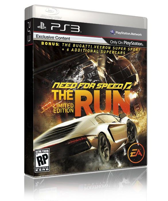 Игра SONY Need for Speed The Run: Limited Edition для  PlayStation3 Rus