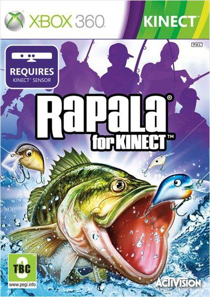 Игра MICROSOFT Rapala for Kinect для  Xbox360 Eng
