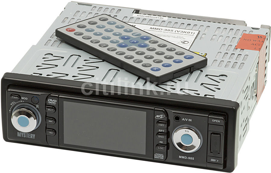 Автомагнитола MYSTERY MMD-985,  USB