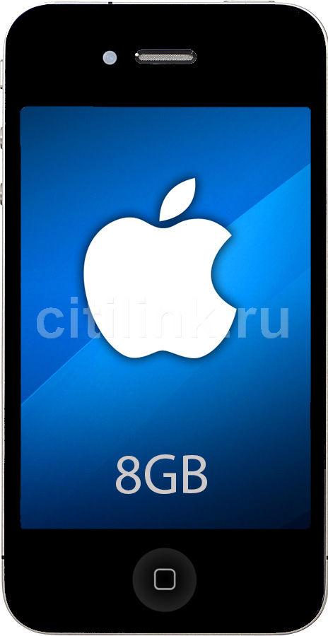 Смартфон APPLE iPhone 4 MD128  8Gb, черный