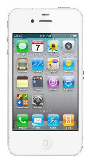 Смартфон APPLE iPhone 4 8Gb, белый