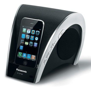 Док-станция Panasonic SC-SP100EG-K (iPhone, iPod)