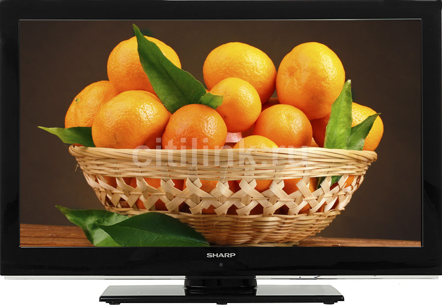 "LED телевизор SHARP LC32LE510  ""R"", 32"", FULL HD (1080p),  черный"