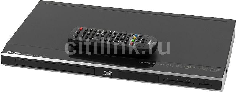DVD-плеер TOSHIBA BDX1250KR,  черный