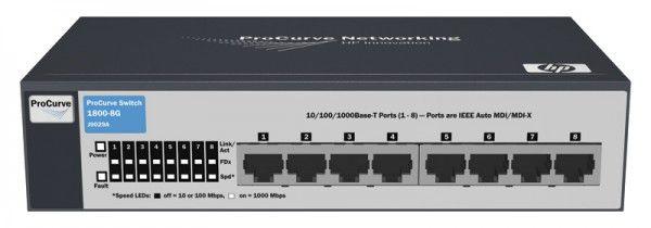 Коммутатор HP ProCurve 1800-8G, J9029A
