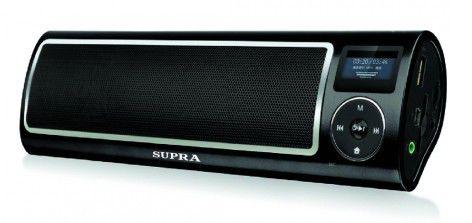 Аудиомагнитола SUPRA PAS-6255,  черный
