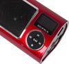 Аудиомагнитола SUPRA PAS-6255,  красный вид 9