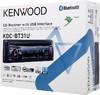 Автомагнитола KENWOOD KDC-BT31U,  USB вид 6
