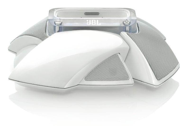 Док-станция JBL On Stage Micro III белый  (iPhone, iPod)