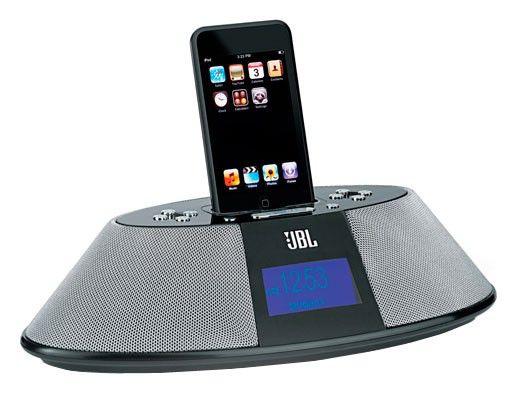 Док-станция JBL On Time 200ID черный (iPhone, iPod) + радиобудильник