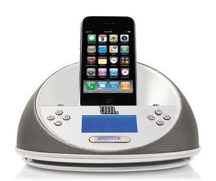 Док-станция JBL On Time Micro белый (iPhone, iPod) + радиобудильник