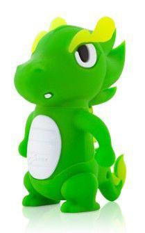 Флешка USB BONE Dragon 8Гб, USB2.0, зеленый [dr11061-8g]