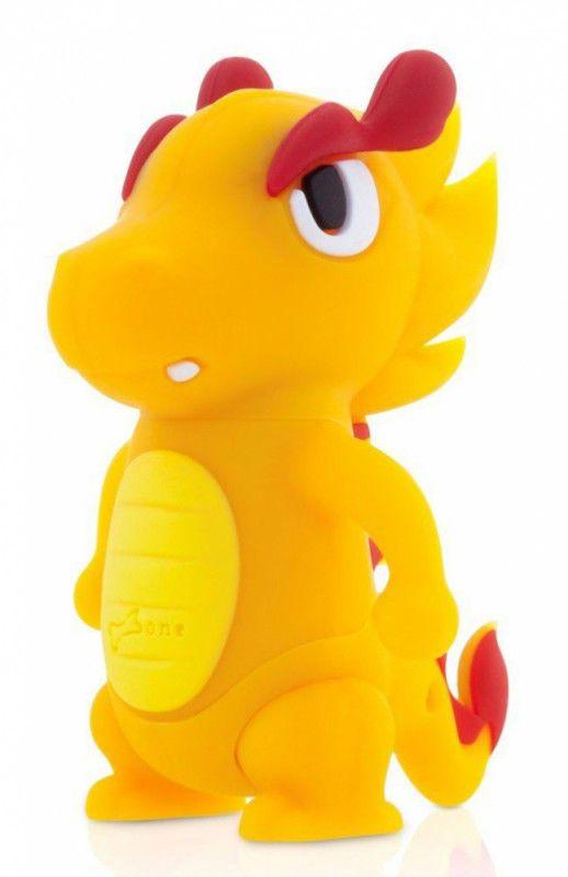 Флешка USB BONE Dragon 8Гб, USB2.0, желтый [dr11061-8y]