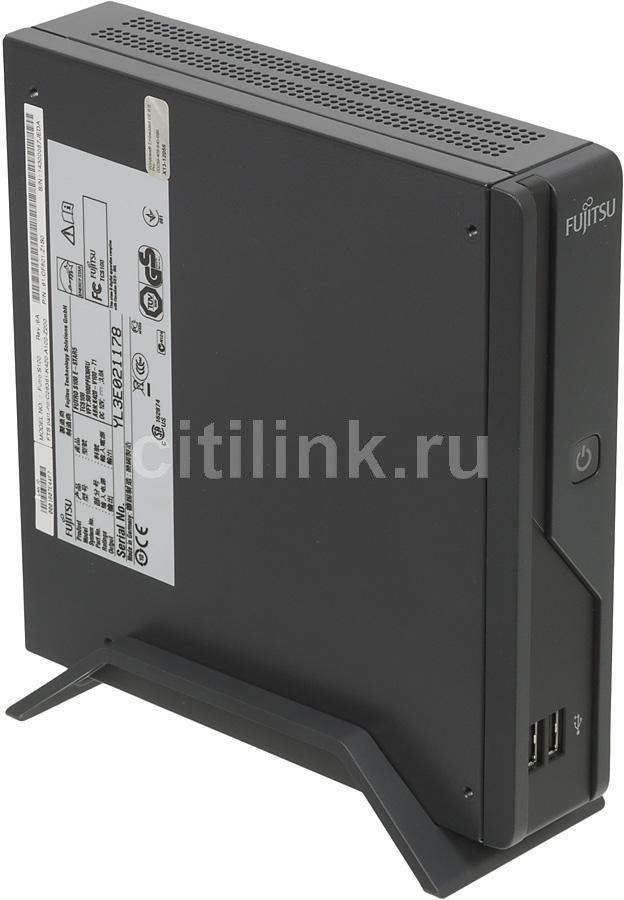 Тонкий клиент  FUJITSU FUTRO S100,  VIA  Eden  500,  DDR2 1Гб, 1Гб(SSD),  VIA VX800 - 256 Мб,  без ODD,  Windows Embedded Standard,  черный [vfy:s0100pf039ru]