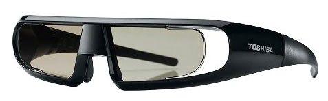 Очки 3D TOSHIBA FPT-AG02G,  черный