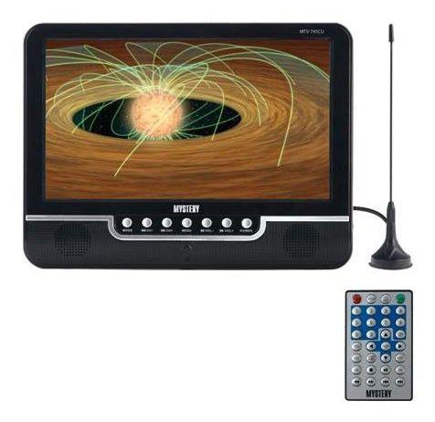 Автомобильный портативный телевизор MYSTERY MTV-745CU,  7