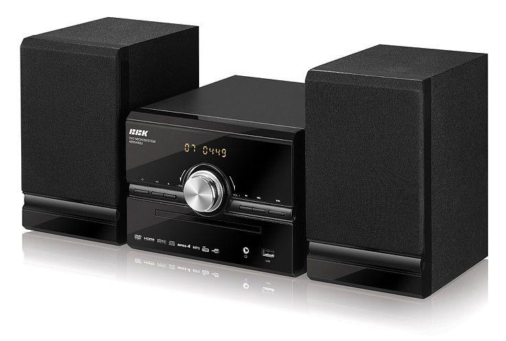 Музыкальный центр BBK ABS549DU (+disk 500song),  черный