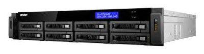 Сетевое хранилище QNAP TS-EC879U-RP,  без дисков