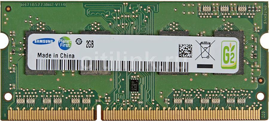 Модуль памяти SAMSUNG DDR3L -  2Гб 1600, SO-DIMM,  OEM,  original