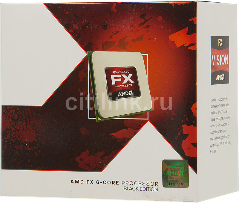 Процессор AMD FX 6100, SocketAM3+ BOX [fd6100wmgusbx]