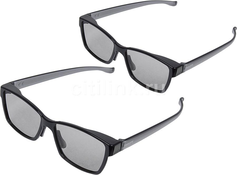 Очки 3D PHILIPS PTA436/00,  2 шт,  черный