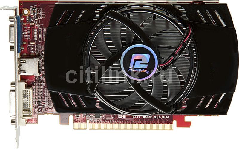 Видеокарта POWERCOLOR Radeon HD 5670,  1Гб, DDR3, oem [ax5670 1gbk3-hv5]