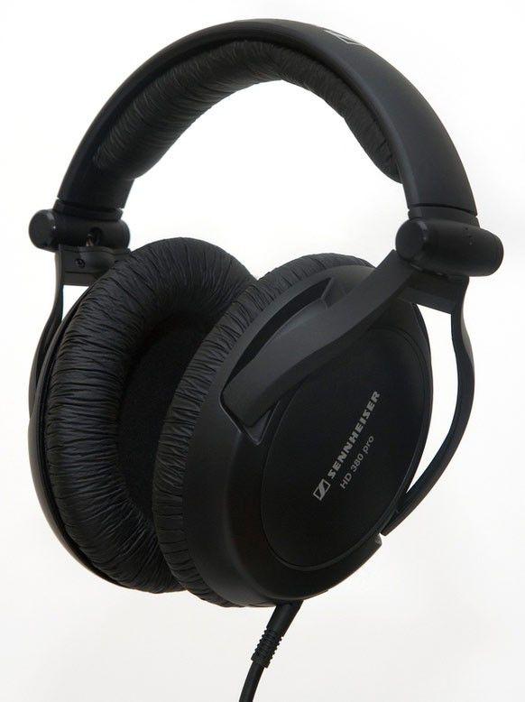 Наушники SENNHEISER HD 380 Pro, мониторы,  черный, проводные