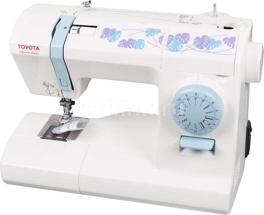 Швейная машина TOYOTA ECO15CB белый [eco 15cb]