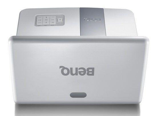 Проектор BENQ MW851UST белый [9h.j4w77.13e]
