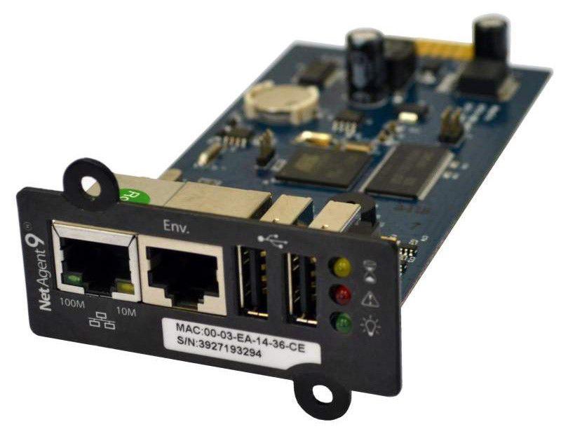 Адаптер Powercom SNMP для ИБП NetAgent IX (BX506) внутренний 3-порта