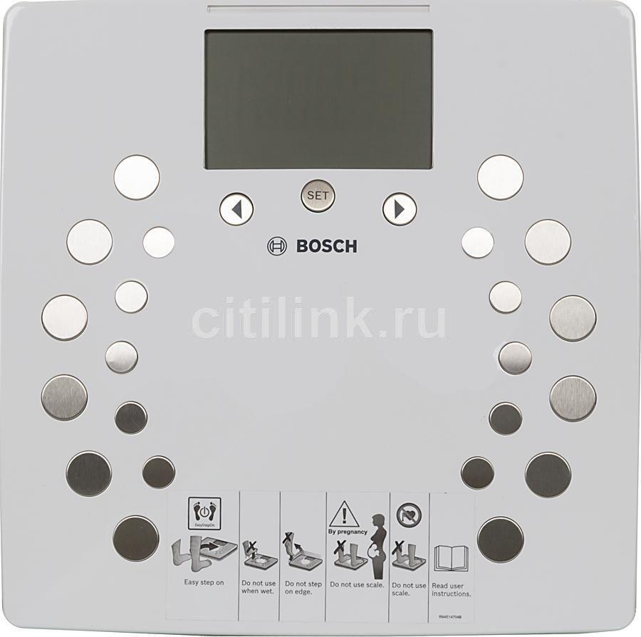 Весы BOSCH PPW2360, до 180кг, цвет: белый