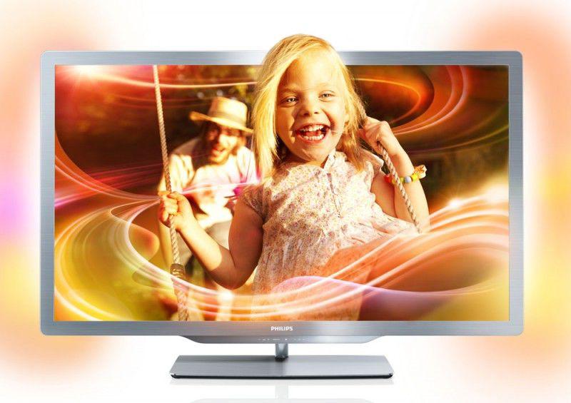 LED телевизор PHILIPS 55PFL7606H/12  55