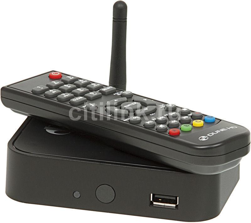 Медиаплеер DUNE HD TV-101W,  черный
