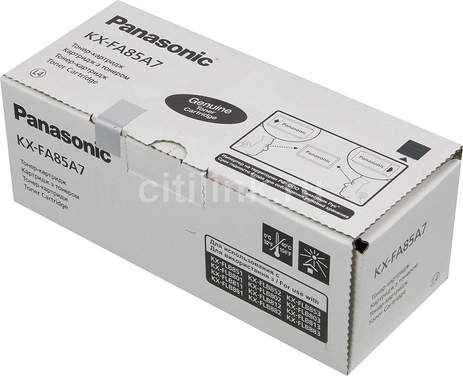 Картридж PANASONIC KX-FA85A черный [kx-fa85a7]