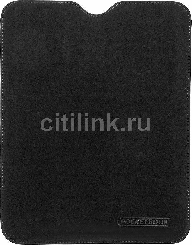 Чехол POCKETBOOK черный/ зеленый