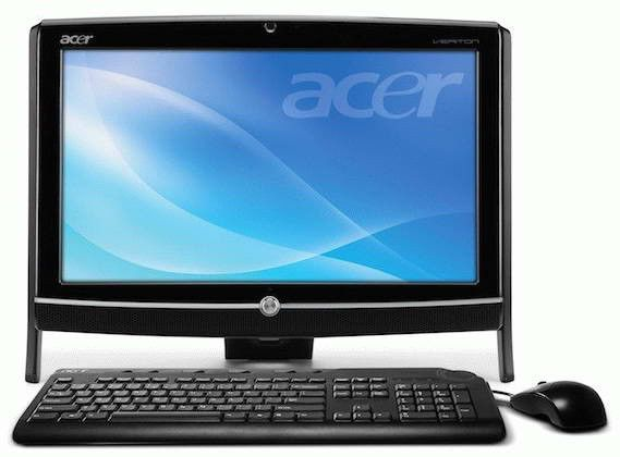 Моноблок ACER Veriton Z290G, Intel Atom, 2Гб, Intel HD Graphics, Windows 7 Home Premium [do.vbker.003 ]