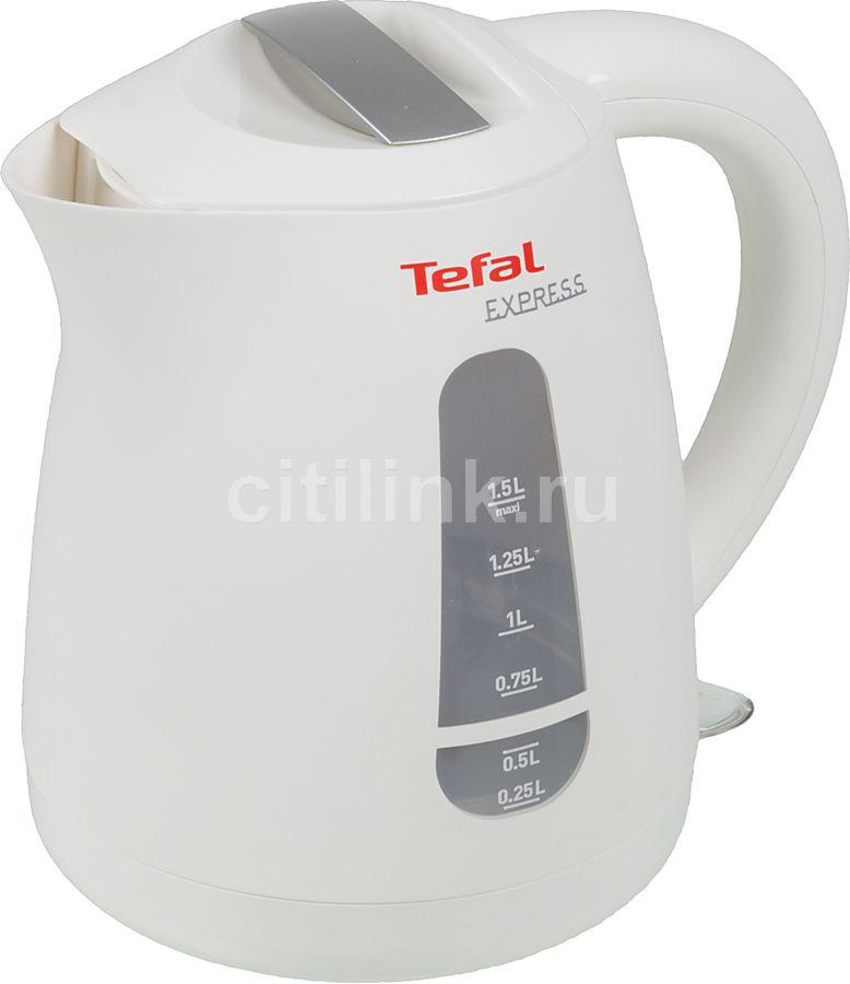 Чайник электрический TEFAL KO29913E, белый