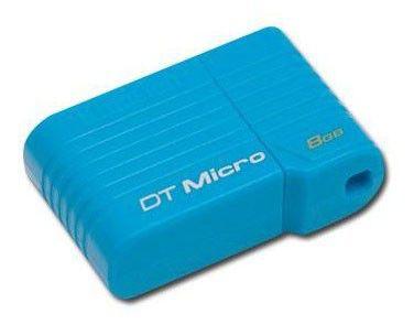 Флешка USB KINGSTON DataTraveler Mini Slim 8Гб, USB2.0 [dtmc/8gb]