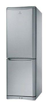Холодильник INDESIT NB 18 FNF S,  двухкамерный,  серебристый [nb18fnfs]