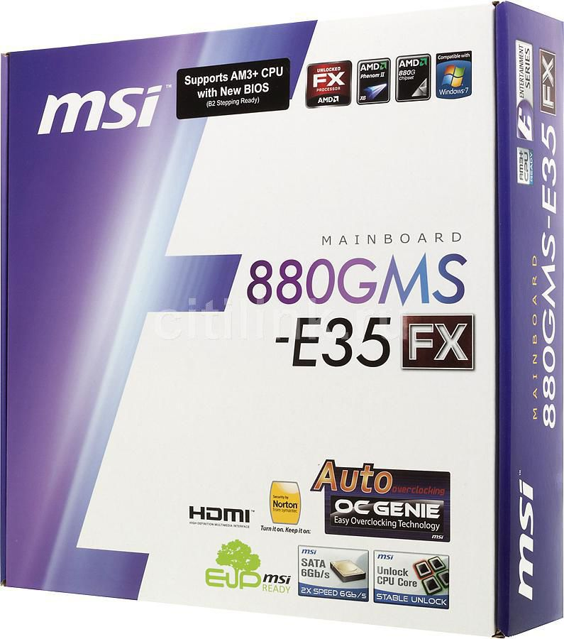 MSI 880GMS-E35 (FX) AMD HDMI Audio Drivers PC