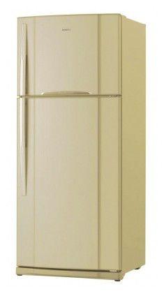Холодильник TOSHIBA GR-R74RDA(MC),  двухкамерный,  золотистый металлик [r74rdamc]