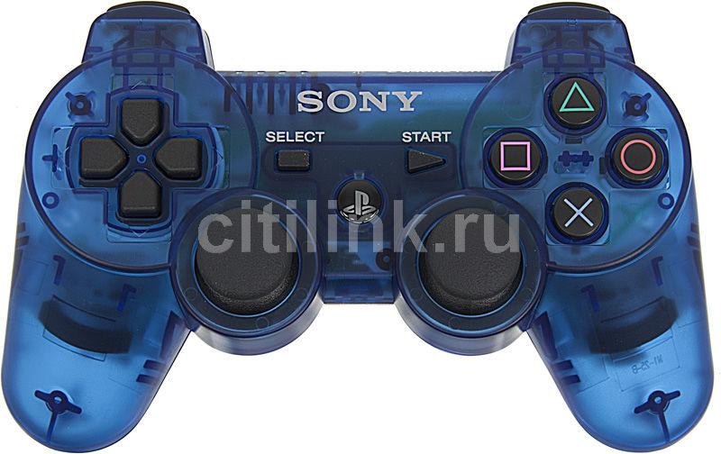 Беспроводной контроллер SONY Dualshock 3, для  PlayStation 3, синий [ps719291619]