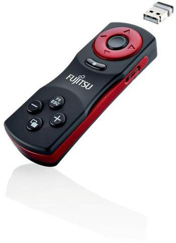 Презентер Fujitsu Presenter IV Air, 2D Air mouse, 10buttons with laser pointer, USB receiver [s26381-k440-l100]