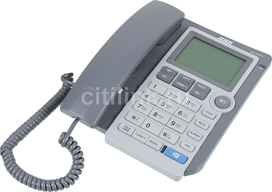 Проводной телефон BBK BKT-255 RU, серый