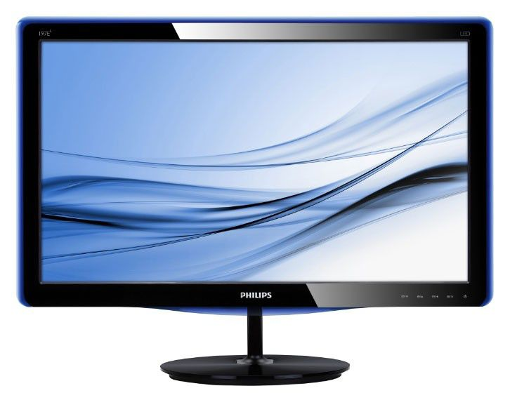 "Монитор ЖК PHILIPS 197E3LSU/00 18.5"", черный"