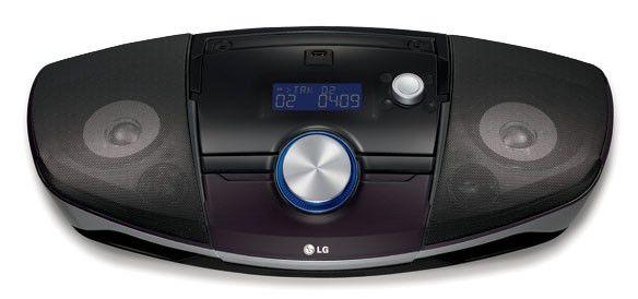 Аудиомагнитола LG SB156,  черный