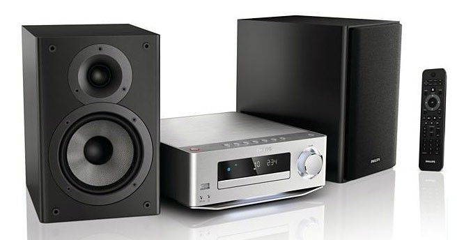 Музыкальный центр PHILIPS MC-M7000/12,  серебристый [mcm7000/12]