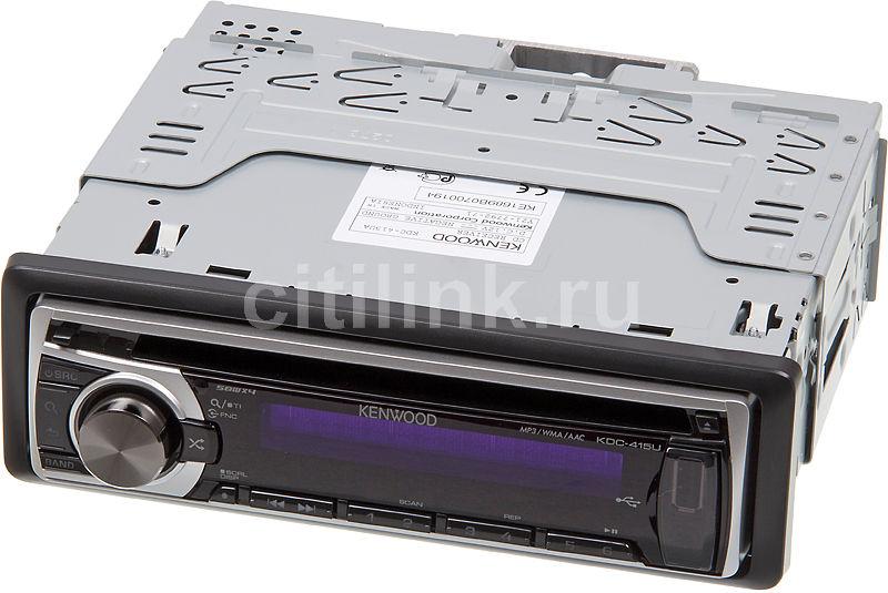 Автомагнитола KENWOOD KDC-415UA,  USB
